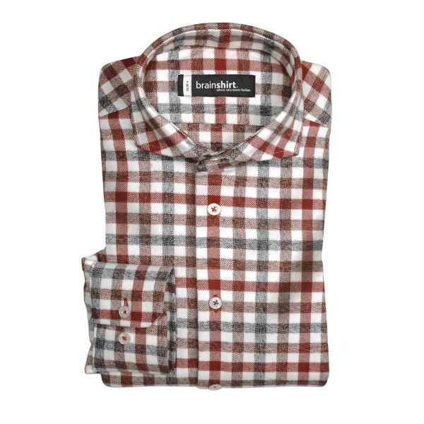 Shirt Aspen Red slim+